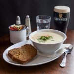 Bobby's Seafood Chowder  served with multi seed   wheaten bread