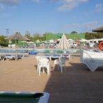 View of the splash pool area