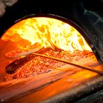 Most everything is cooked in a burning brick oven, as our restaurant's name implies (antico forn