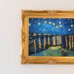 Enjoy all three van Gogh Starr Night paintings in Victoria's Room.