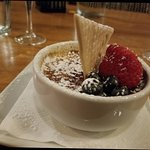 Date Night! <3 Sparkling Wine, Tomate Bouchon, Saumon Dijonaise, Creme Brulee
