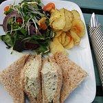 Cornish crab sandwich