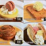 Nouvelle carte des desserts au top pour les gourmands.