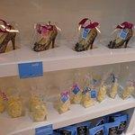 Unique and handmade chocolates.