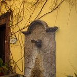 Fountain in Andanza restaurant
