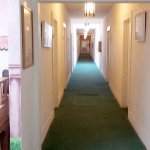 Internal access to the rooms