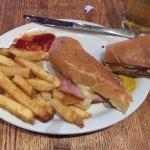 Cuban Sandwich....very good.