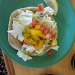Fish taco at Coconut's