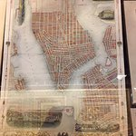 Map Room: 19th c New York City map