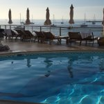 Pool in early morning light...