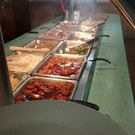 There is a wide selection of delicious food available at Super China Buffet in Kenosha.