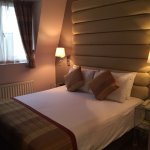 Double bed in the suite