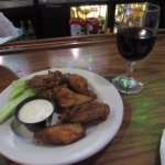 Wings and wine for late night