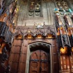 Thistle Chapel entry from the interior
