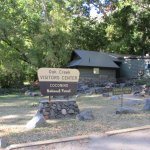 The restrooms at the visitor's center are open all the time.