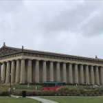 The Parthenon replica in Nashville's Centennial Park. Inside is Athena and a quaint art museum.