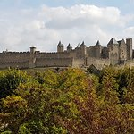 Cité von Carcassonne Foto