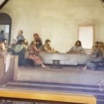 The Last Supper fresco by Ben Long Holy Trinity Church