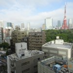 View of Tokyo Tower from bedroom
