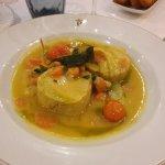 Morue aux légumes frais à l'Andalouse