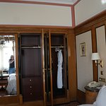 Closets in the bedroom
