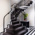 The Mark's Iconic Black & White Staircase