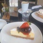 Cheesecake de Frutas e Torta de limão