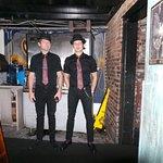 Kirk le batteur et Mike le bassiste