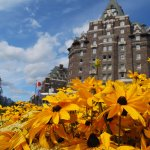 Banff Springs Hotel - a site to visit in the Rockies.