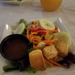 Side salad (sans onions)