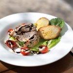 Spring lamb salad - Food from the Heart menu