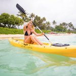 Paddling out to the islands!
