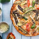 Verdure Grigliata (Grilled Vegetables Pizza Italian Style)