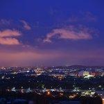 Sheraton Pentagon City Washington DC view at Dusk