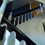 Loved the restored bannister...in fact...the entire home!