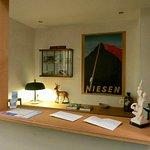 Hotel Schwert: Reception Desk