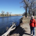 Karen on Platte River Oct 17 2017