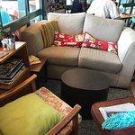 comfy eclectic seats