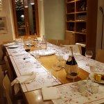la sala ove si cena in convivialità assoluta