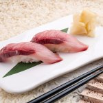 Nigiri, yellowtail