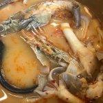 Crayfish tom yum soup