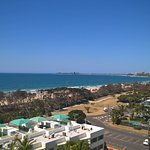 View from Balcony, looking up to Mooloolaba