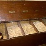 ground malted barley