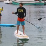 Enjoy the scenery whilst learning to SUP.