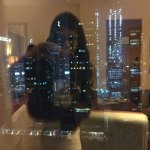 Reflection from the window on the 23rd floor.