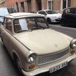 Classic Trabant car!