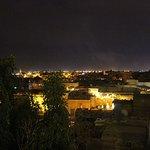 Fantastic views of Marrakech.