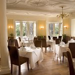 Cranstons dining room with views of Princes Street.