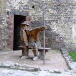Interesting wooden sculpture