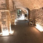 A view of the cellar